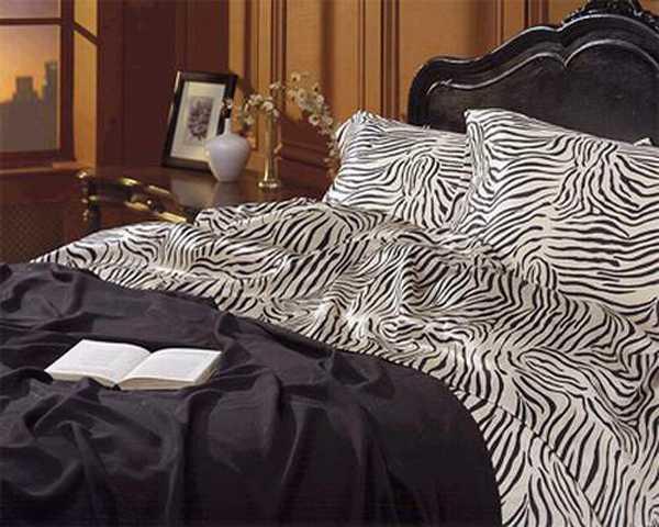 zebra bedding set