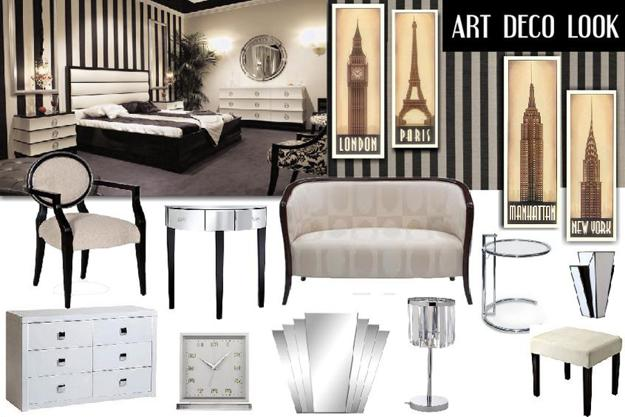 art deco decor creating top notch modern interior design and decorating. Black Bedroom Furniture Sets. Home Design Ideas
