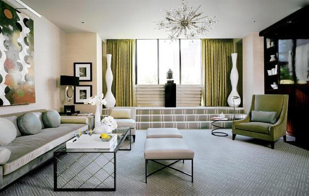 Gorgeous Art Deco Decorating Ideas Reflecting Avant Garde Art Styles - Avant garde living rooms