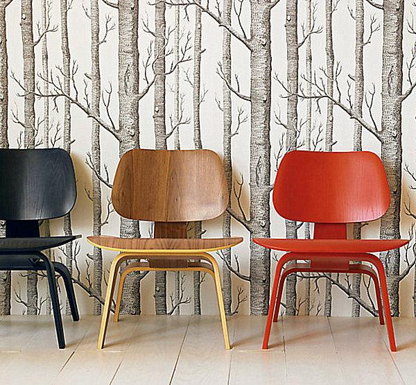 Modern Furniture April 2013: Modern Interior Decorating With Eames Chairs Creating
