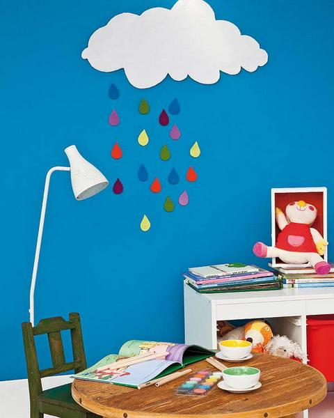 Craft Ideas For Kids Room Decorating With Fabrics And