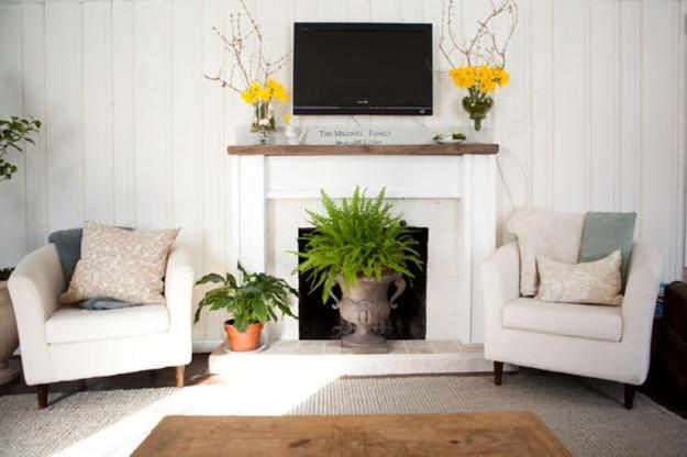 22 Beautiful Fireplace Designs And Summer Decorating Ideas