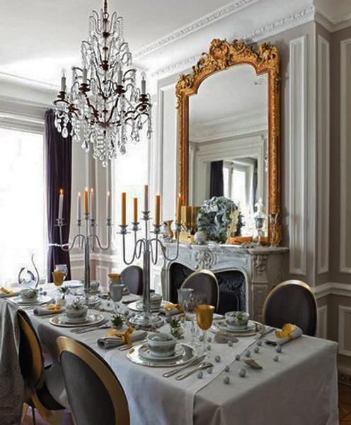 22 french country decorating ideas for modern dining room decor. Black Bedroom Furniture Sets. Home Design Ideas