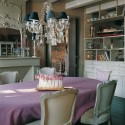 modern dining room decorating ideas in French style