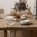 wood furniture for modern dining room decorating in French Alpine and rustic styles