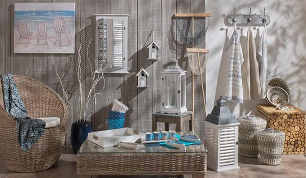 Cool gray and blue color palette with brighter accents for for La maison du monde barcelona