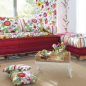 interior paint colors and home furnishings for summer decorating