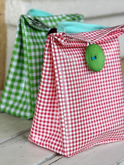 homemade lunch bags