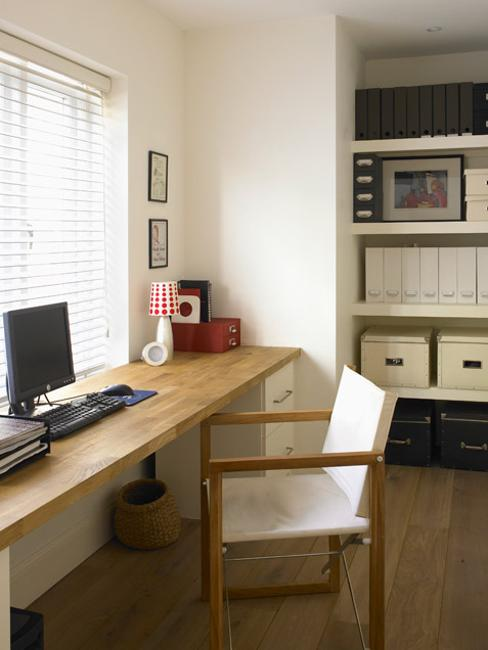 suxtome made wooden table for small home office decorating