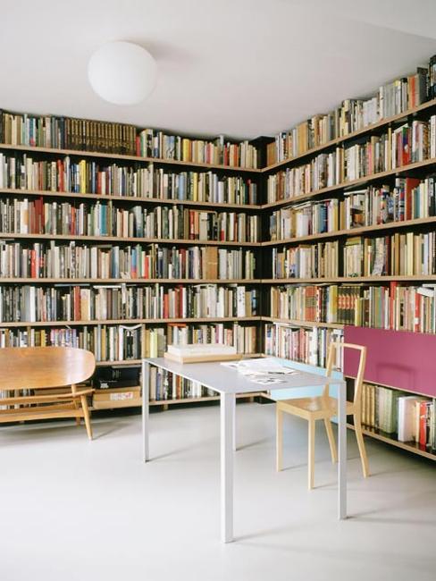 home office decor, wall shelves
