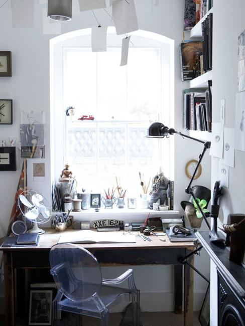 Creative home office decor ideas to effeciently utilize for Creative small office design