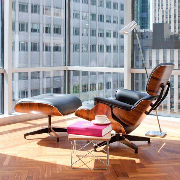 modern interior decorating with eames chairs creating timeless room decor. Black Bedroom Furniture Sets. Home Design Ideas