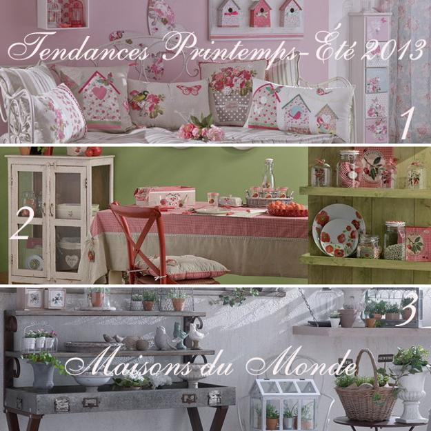 6 interior color schemes and decor themes for spring and for Interior theme ideas