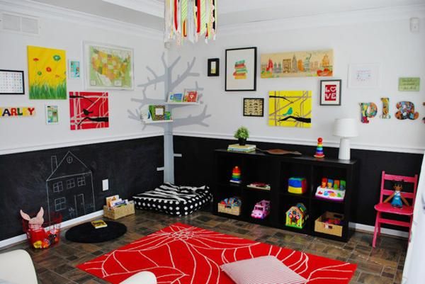 Bright Children 39 S Ideas And Black White Red Color Combination
