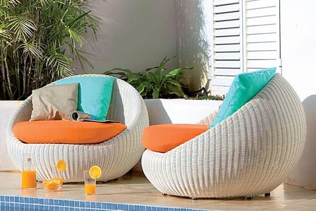 contemporary outdoor chairs - 25 Modern Outdoor Furniture Sets That Brighten Up Backyard Ideas In