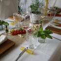 italian party table decoration