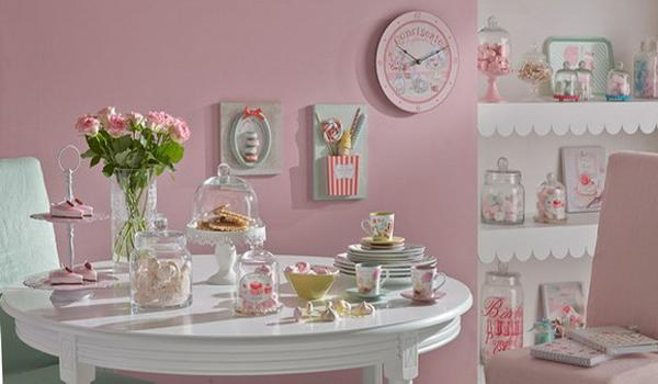 pink and white painting ideas