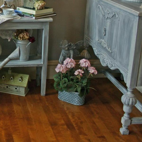Shabby Chic Decorating Ideas Inspired by Beautiful Flowers ...