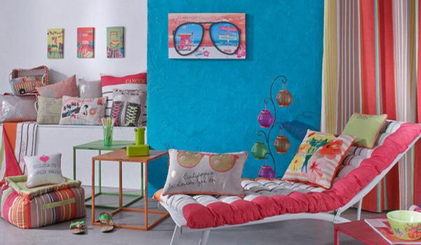 Bright Blue And Pink Color Combination For Festive Spring