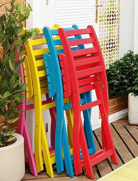 High Quality 2 Bright Summer Party Table Decor Ideas Flower Centerpieces And. Ideal Colorful  Outdoor Chairs For Home Decoration ...