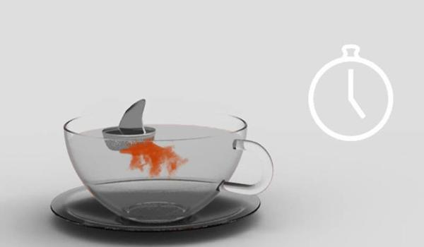 creative tea infusers for playful tea party table decoration and
