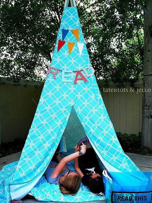 backyard teepee design
