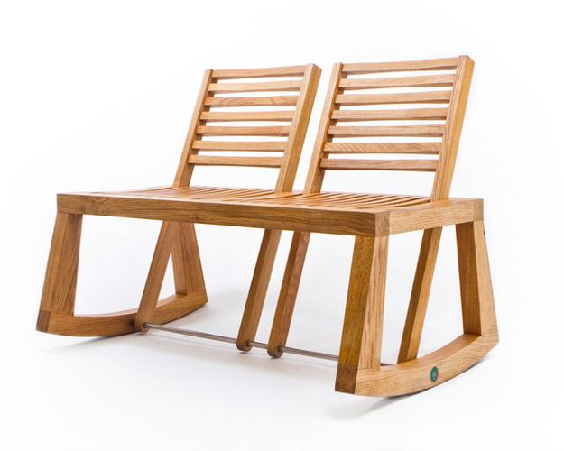wooden bench, modern furniture design