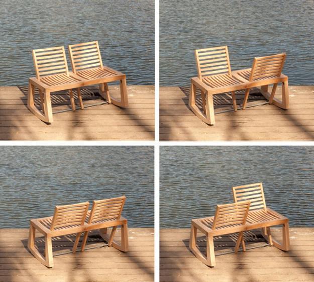 garden furniture wooden bench