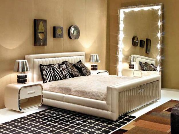 Lovely Full Length, Lighted Large Mirror For Modern Bedroom Decorating