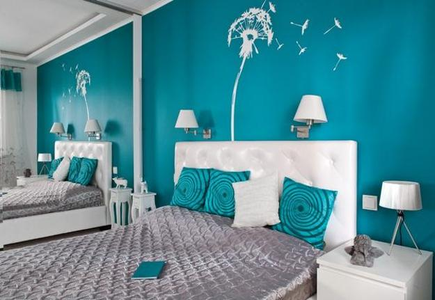 Turquoise on pinterest turquoise bedrooms aqua and nail for Aqua bedroom ideas