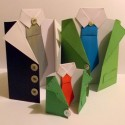 paper craft ideas for kids, fathers day cards