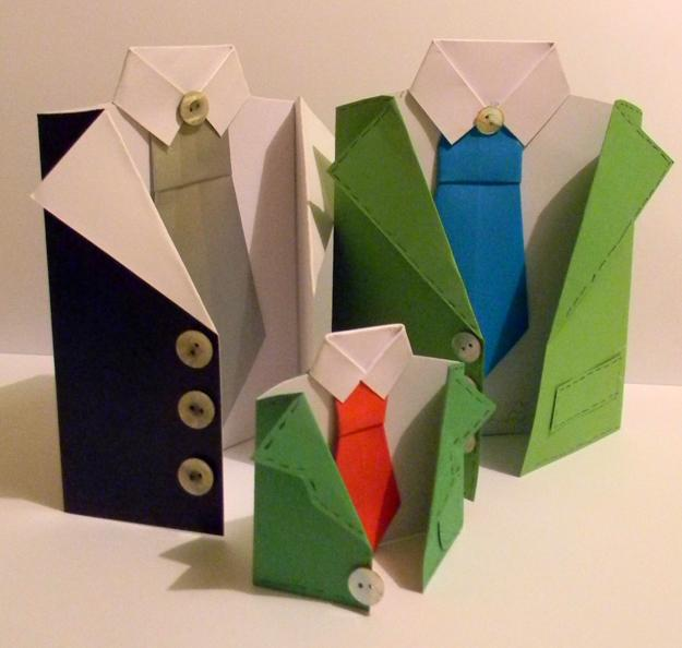 Easy paper craft ideas creating beautiful fathers day for Simple designs on paper