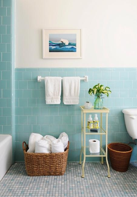 30 modern bathroom decor ideas blue bathroom colors and for Blue bathroom wall decor