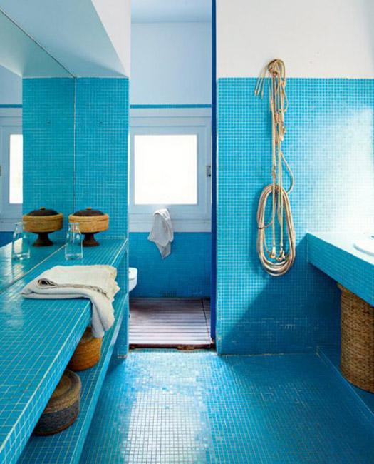 30 Modern Bathroom Decor Ideas Blue Bathroom Colors And