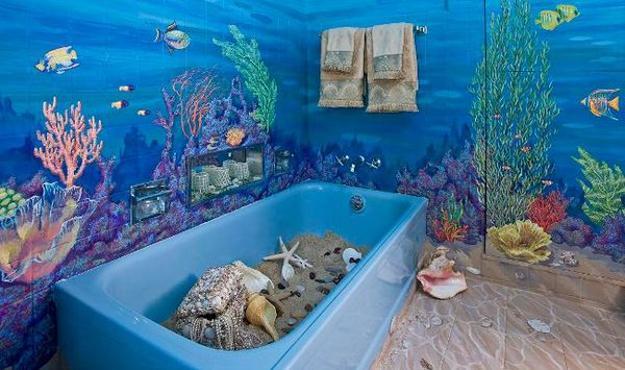 remarkable ocean bathroom sets | 30 Modern Bathroom Decor Ideas, Blue Bathroom Colors and ...