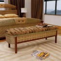 rattan furniture and wooden furniture for modern interior decorating