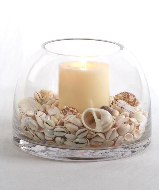 Shell And Sand Decorating Ideas