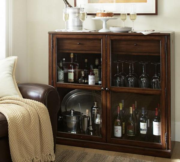 Small Living Room Office Ideas: Small Home Bar Ideas And Modern Furniture For Home Bars