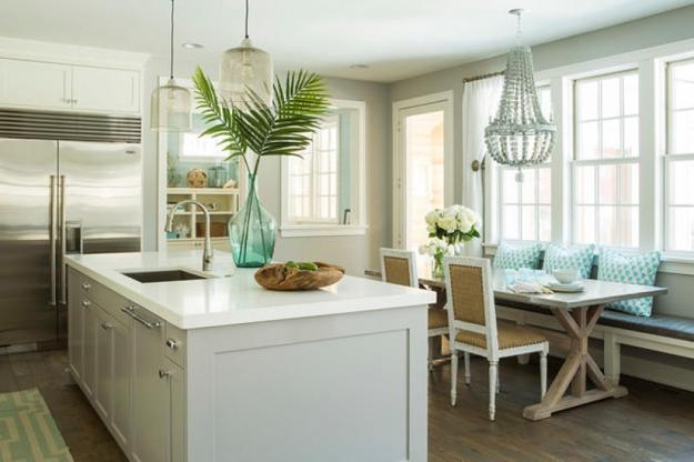 Summer Decorating Ideas To Brighten Up Modern Kitchen Decor - Green kitchen accessories ideas