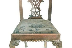 antique wood furniture in CHippendale style