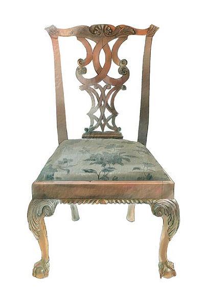 Chippendale furniture design define unique english for Furniture definition
