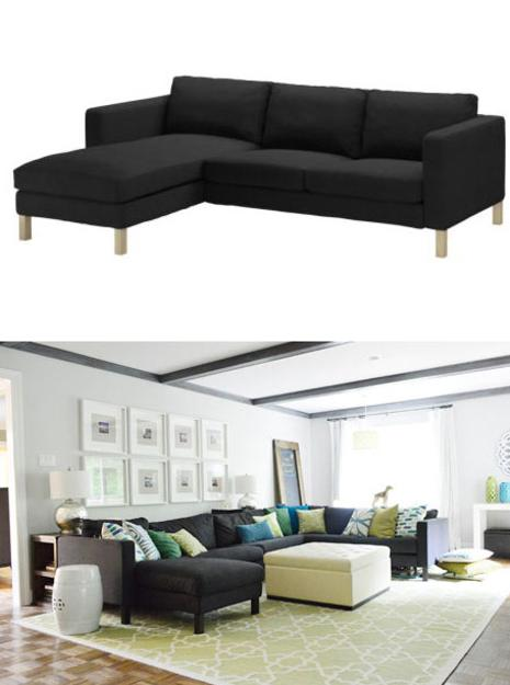 contemporary living room furniture sofa - Living Room Furnishings