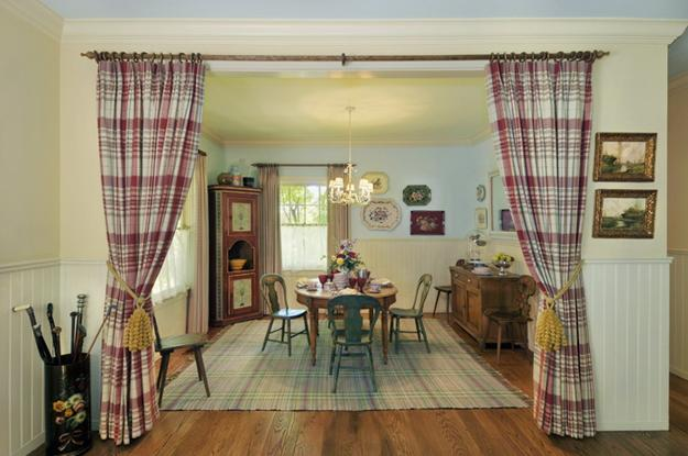 Country Home Decorating Ideas For Dining Room