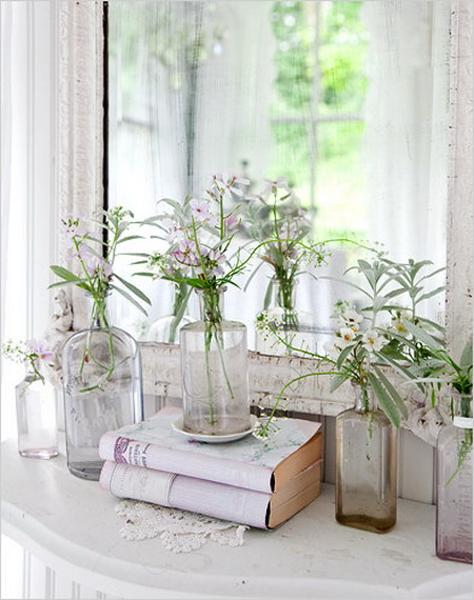 Shabby chic ideas turning garden house into beautiful - Decoracion shabby chic vintage ...