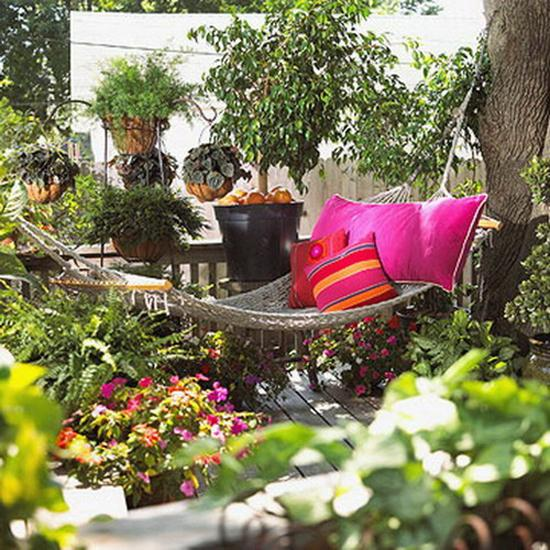 Home Design Ideas Decorating Gardening: Perfect Pillows For Hammock Decorating Adding Comfort To