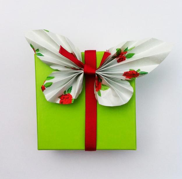 Decorated Gift Boxes Adorable Handmade Butterflies Decorations For Gift Boxes Recycle Paper Decorating Inspiration