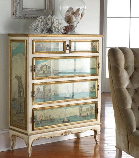 25 restoration and furniture decoration ideas to recycle and upcycle wood furniture pieces - Refinishing furniture ideas painting ...