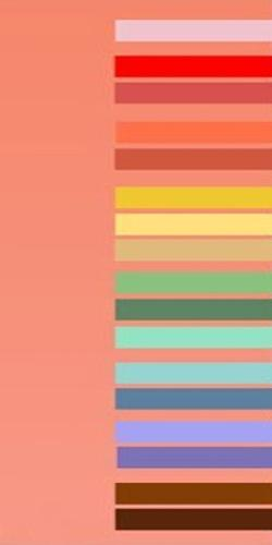 Pastel Color Schemes With Soft Pink Tone