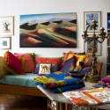 modern home decor ideas, fabrics, room colors and decoration patterns from textile designer lisa corti