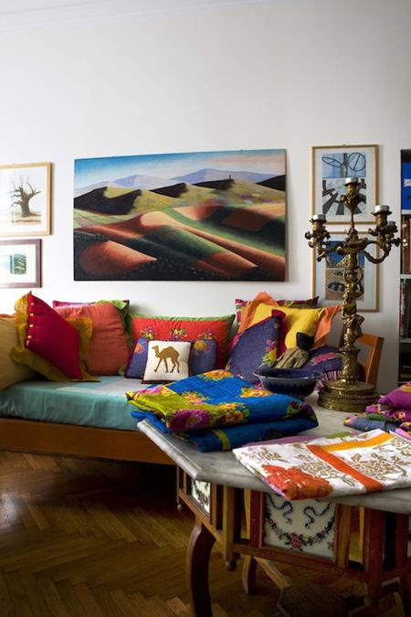 Colorful Home Fabrics And Modern Home Decor Ideas From Textile Designer  Lisa Corti